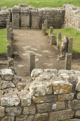 Temple of Mithras at Carrawburgh, Hadrian's wall
