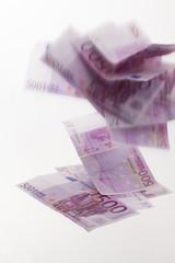 fallende 500 euro scheine