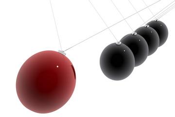 Bola en movimiento