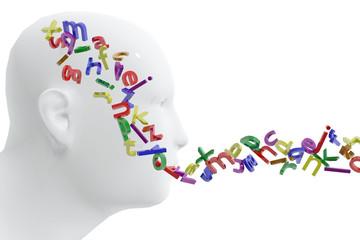Persona y letras.  Concepto de lenguaje