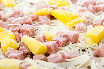 Frozen Hawaiian Pizza