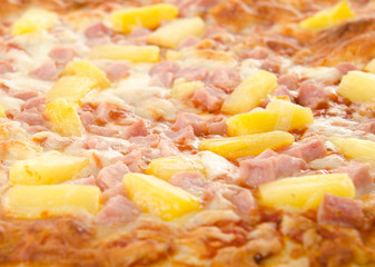 Cooked Hawaiian Pizza