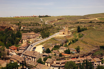 The edge of Segovia