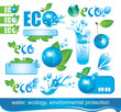 set of design elements on Ecology and the Environment
