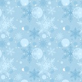 Seamless Christmas Pattern - Repetitive poster