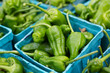 Hot Green Peppers at the Market