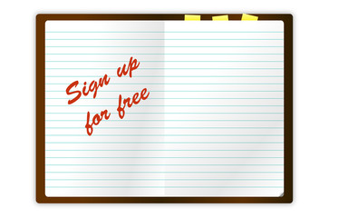 sign up notes