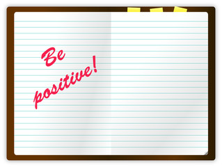 BE POSITIVE NOTES
