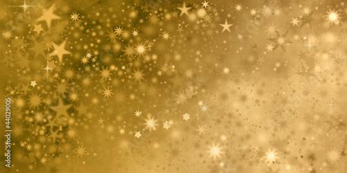 Leinwandbild Motiv weihnachten sterne textur gold