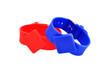 red and blue RFID bracelet