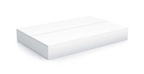White rectangle box.