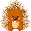 Fun zoo. Porcupine