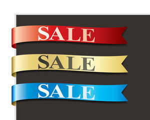 Sales ribbon