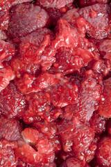 pile of raspberries