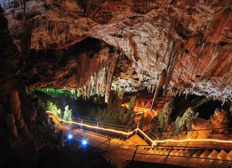 indise of Oylat cave , turkey, bursa