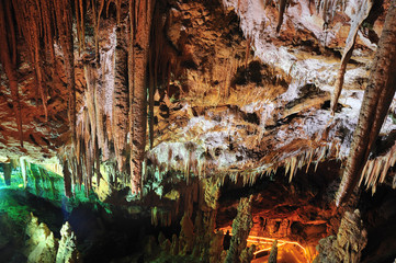 inside of a cave, oylat, bursa, turkey