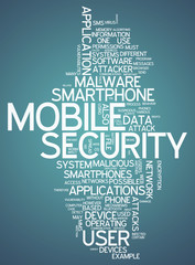 """Word Cloud """"Mobile Security"""""""