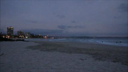 Abenddämmerung an der Gold Coast