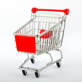 red shop cart