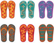 Flip flops collection.
