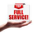 Full Service! Button, Icon