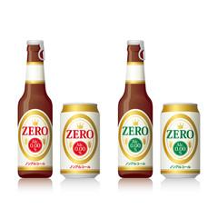 ノンアルコールの缶ビールと瓶ビール