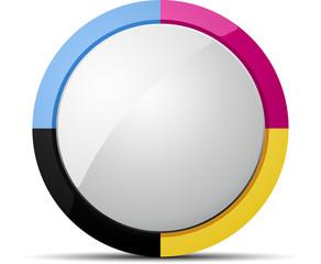 CMYK button