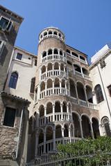 Treppe des Palazzo Contarini del Bovolo in Venedig