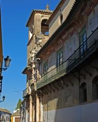 Penaflor palace balcony, Ecija, Spain © Arena PhotoUK