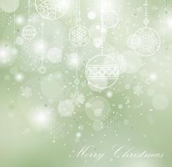 Carte de voeux Merry Christmas