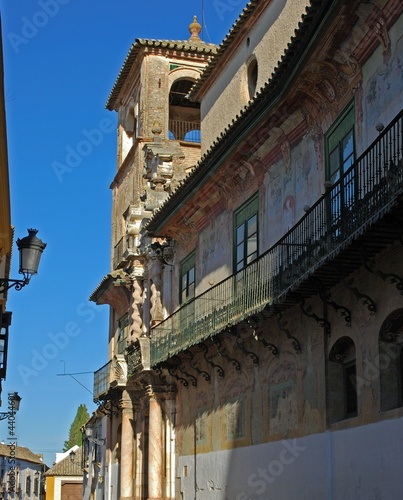 Penaflor palace balcony, Ecija, Spain © Arena PhotoUK