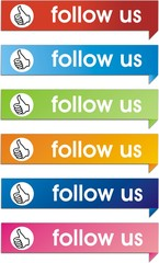 boutons follow us