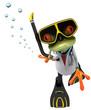 Fun frog doctor