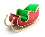 santa sleigh - 44046836