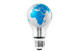 Light Bulb with Globe