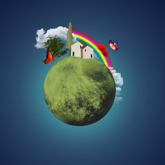 Little lovely planet