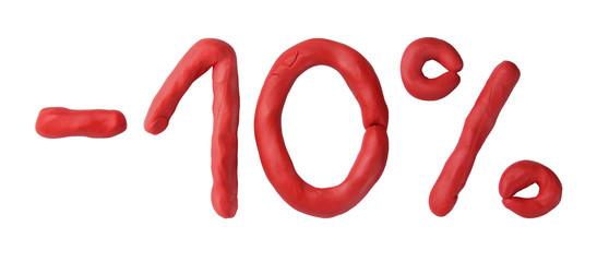 Plasticine 10 percent sale
