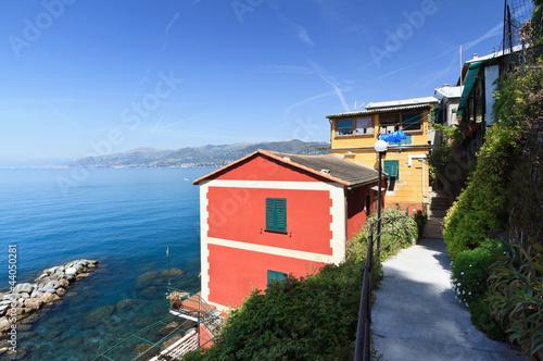 San Nicolo' village, Liguria, Italy