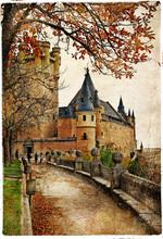 Alcazar , Segovia - cass of Spain
