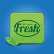 Fresh nature button