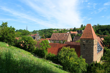 Historische Gebäude im Kloster Maulbronn