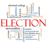 Election Concept Word Cloud