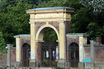 Nebeneingang zum Zentralfriedhof