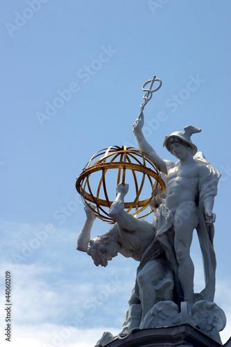 Hermes und Atlas