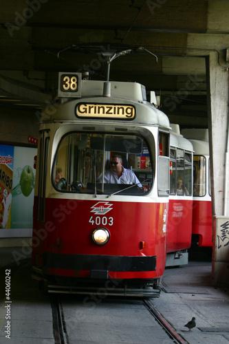 Straßenbahn nach Grinzing