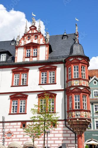 Stadthaus in Coburg mit Erker, Bayern
