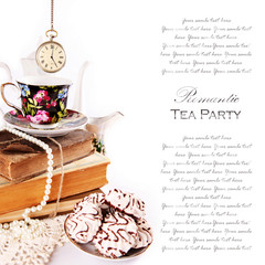 Romantic tea party