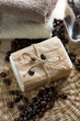 Spa coffee soap