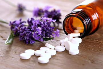 Schüssler Salze mit Lavendel