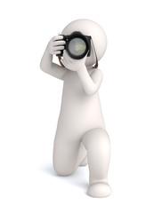 3d photographer front shot